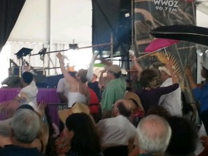 Second Line in the Jazz Tent