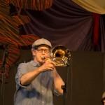 Mark McGrain and Plunge, New Orleans Jazzfest 2013
